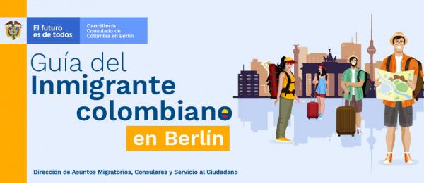 Guía del inmigrante colombiano en Berlín en 2019