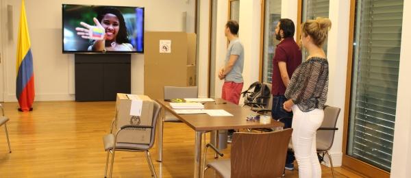Las mesas de votación para la Consulta Popular Anticorrupción abrieron con normalidad en Berlín