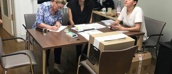 Inició la jornada electoral presidencial 2018 para la segunda vuelta en el Consulado de Colombia en Berlín en 2018
